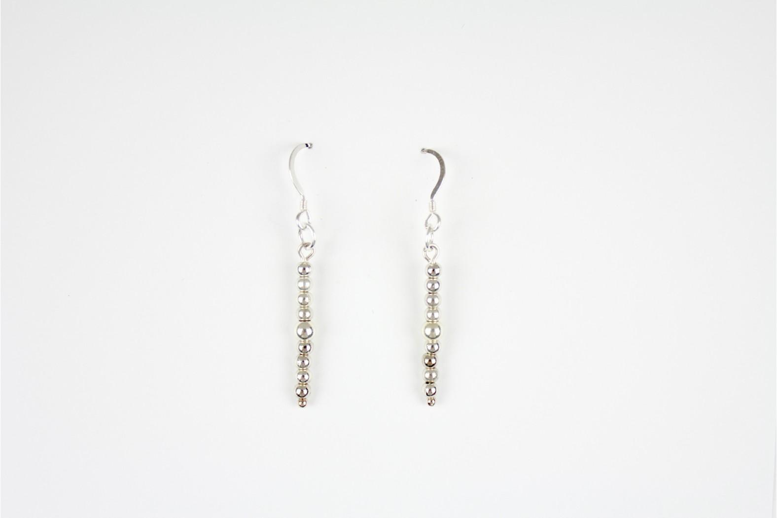 Mixed 9Drop Ball earrings Hand Made Individual design