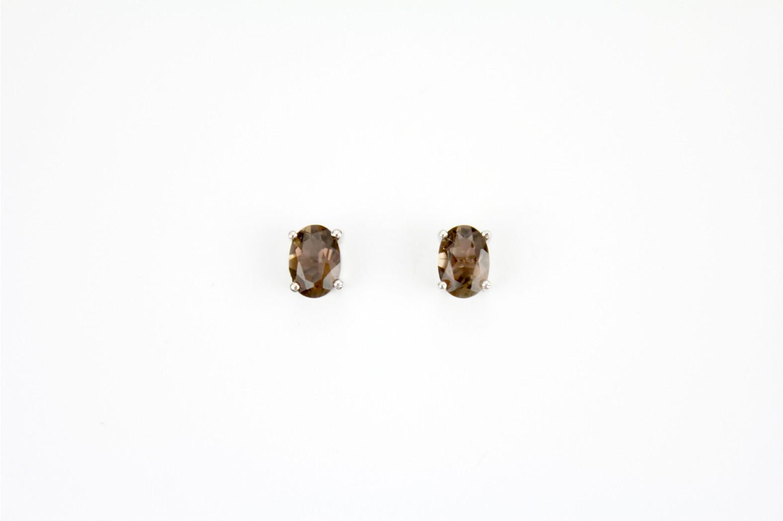 Beautiful Siberian Quartz stud earrings